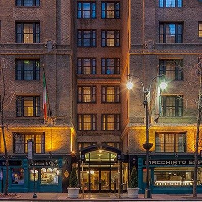 The Fitzpatrick Grand Central is a hotel located in central Manhattan, New York City that provides warm Irish hospitality in an elegant atmosphere.