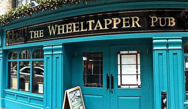 The Wheeltapper celebrates the best of a traditional Irish pub, offering contemporary food and drink in an informal atmosphere.