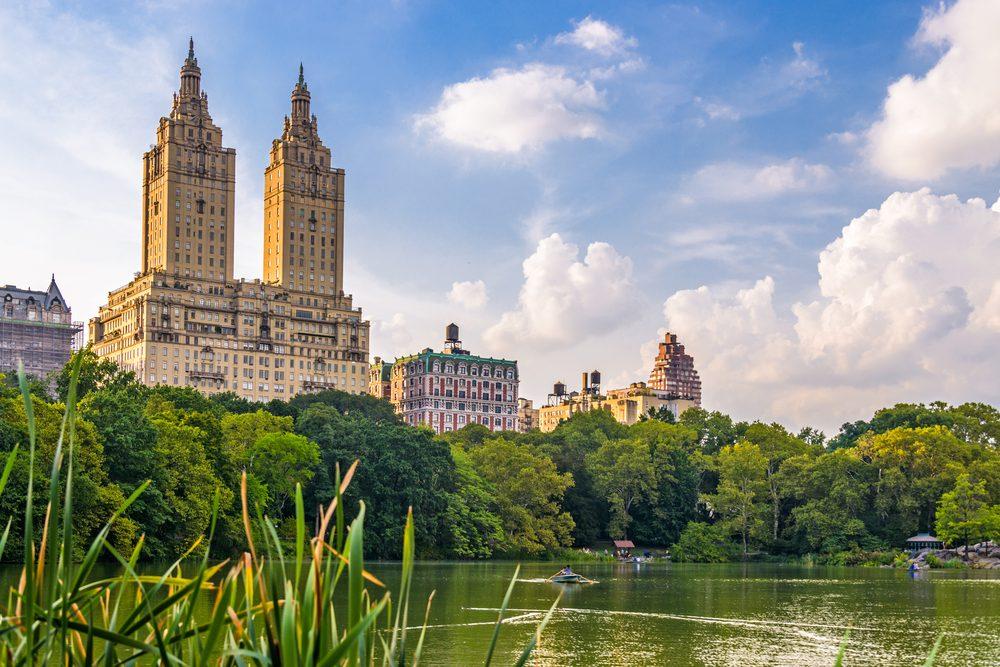The Jacqueline Kennedy Onassis Reservoir also called Central Park Reservoir